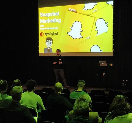 synlighet-kunskap-digital-marketing-snapchat-seminarie